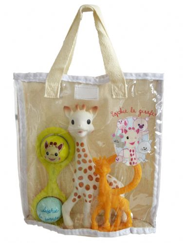 Sophie the Giraffe Made in France Holiday Bag